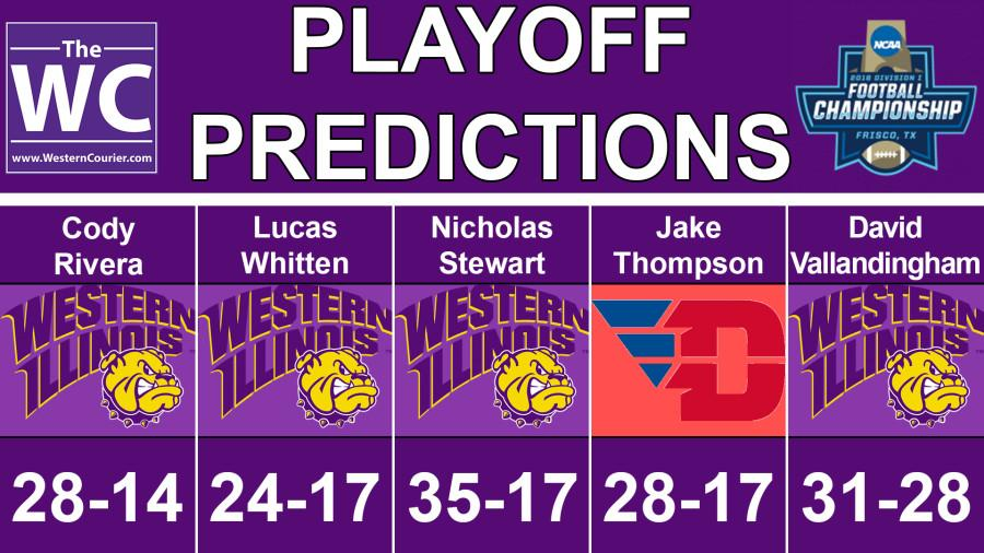 Western Courier playoff predictions