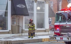 MPD and MFD respond to fire at Magnolia's
