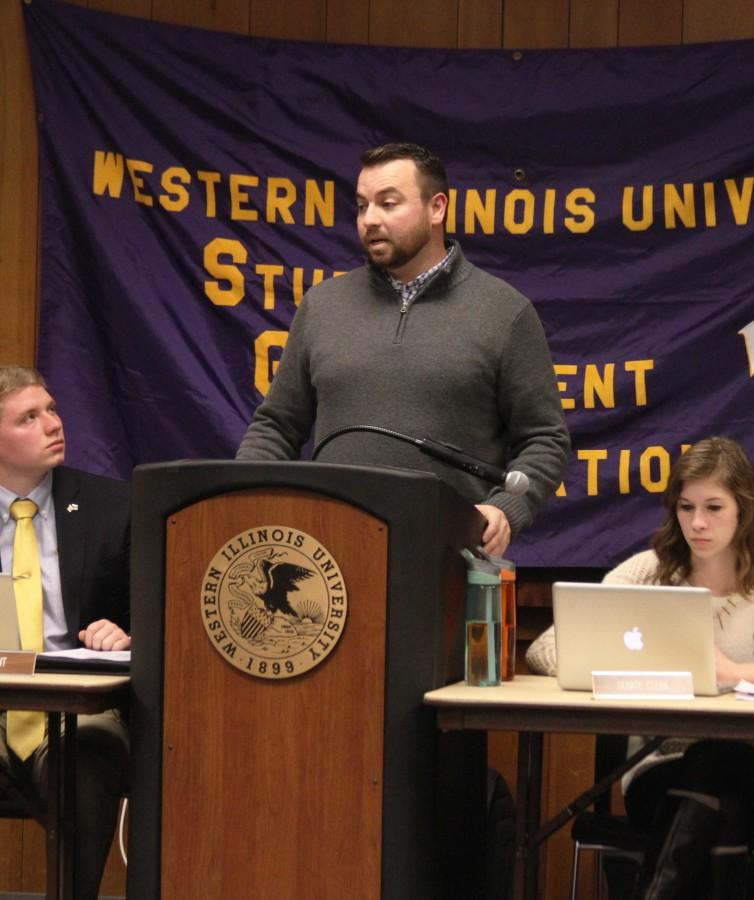SGA discusses athletic funding