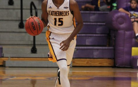 Dalan Ancrum shines as men's hoops run past Jaguars