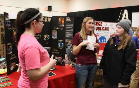 Students visit Activity Fair