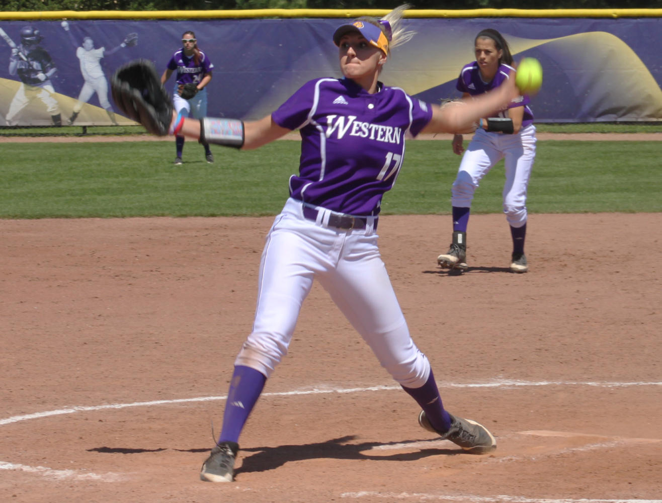 Emily Ira pitches her way to her fourth Summit League Pitcher of the Week.