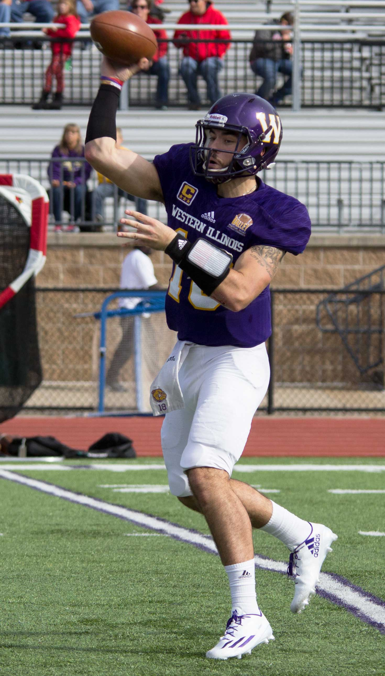 Sean McGuire ending spring ball on a high note.