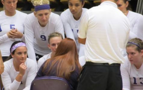 Volleyball rallies for big win