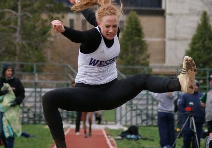 Men finish third; women fifth in home meet