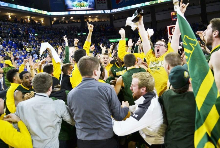 CHAMPIONS AGAIN: Bison outlast top-seeded Jackrabbits, claim second straight Summit League title