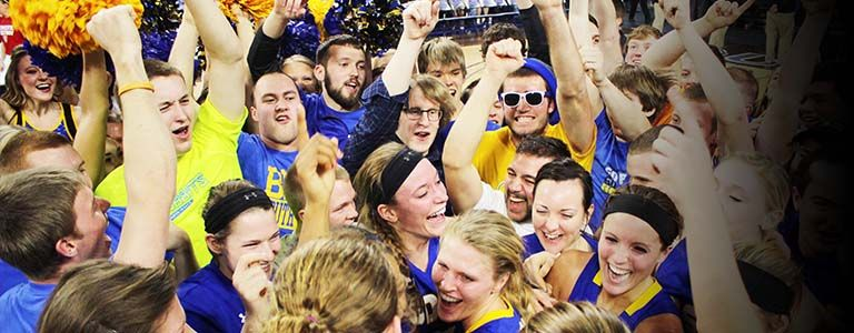 BACK ON TOP: SDSU women rough up defending champs, win sixth title in seven years