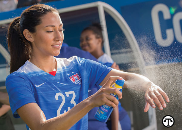 U S  Soccer Star Christen Press Spreads The Word About The
