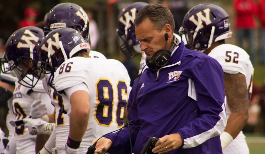 Head coach Bob Nielson and the Western Illinois Leathernecks are tied with North Dakota State for second place in the MVFC after Illinois State defeated them to remain undefeated.