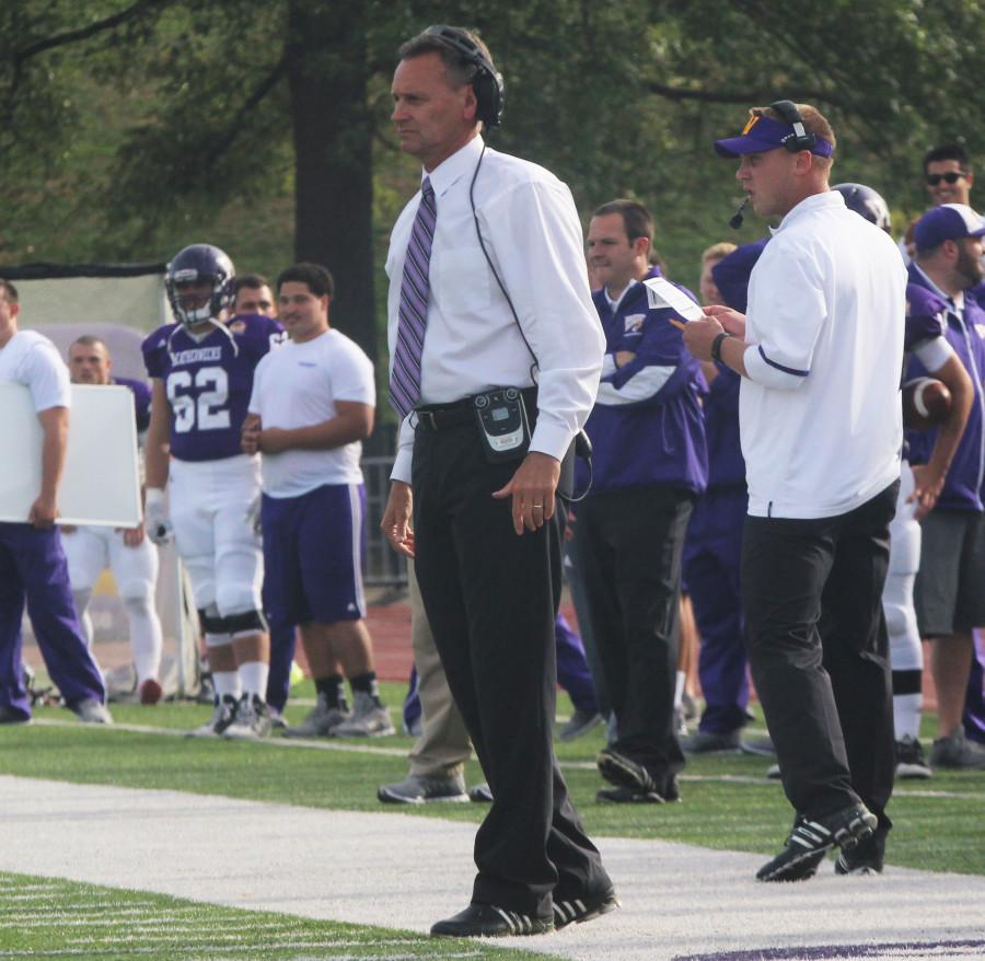 Bob Nielson holds a 12-17 record as the head coach of the Western Illinois football team.