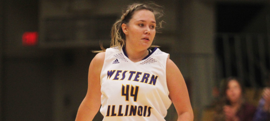Senior forward Sophie Reichelt recorded double-doubles in each of Western's two exhibition games.