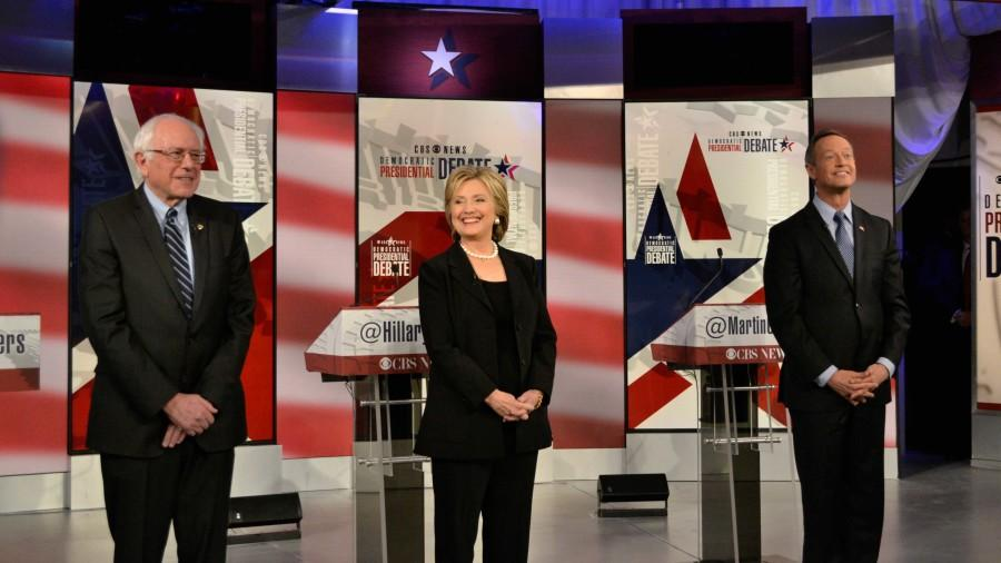 The three remaining Democratic candidates, Sen. Bernie Sanders, former Secretary of State Hillary Clinton and former Maryland Gov. Martin O'Malley, squared off in the second Democratic debate in Des Moines, Iowa on Nov. 14. CLICK TO READ MORE