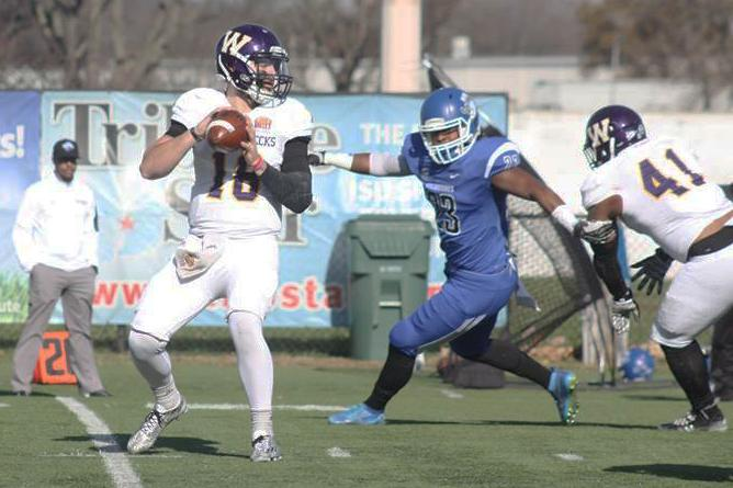 Backup turned starting quarterback Sean McGuire passes for 282 yards, threw for one TD, had one rushing TD and was intercepted once in Saturdays upset win over No. 5 South Dakota State.