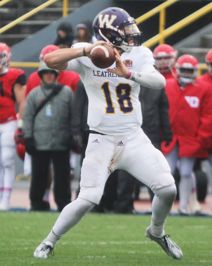 Sean McGuire has thrown four touchdown passes in three games since becoming the starting quarterback for Western.