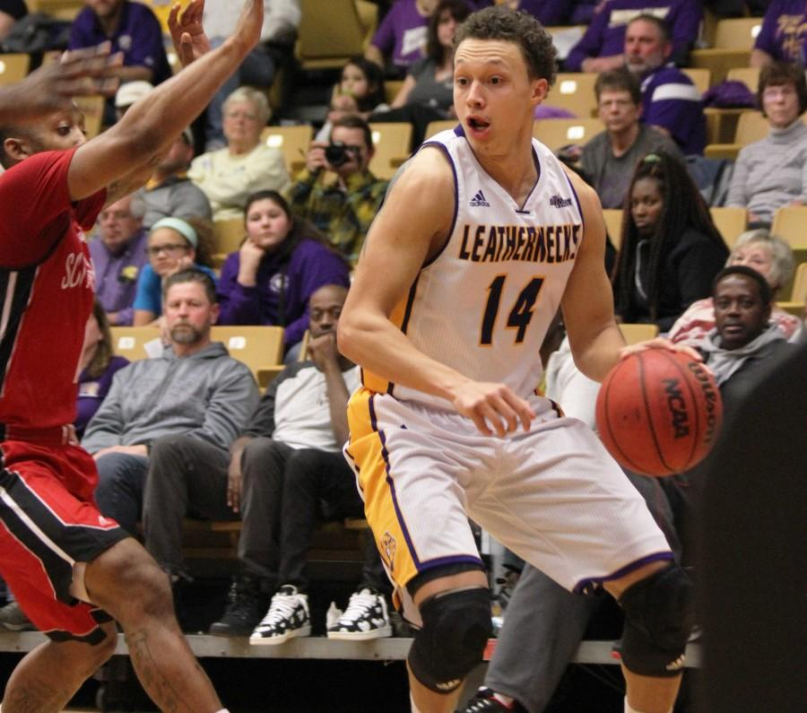 J.C. Fuller concludes his career at Western Illinois with a 13-point effort against South Dakota.