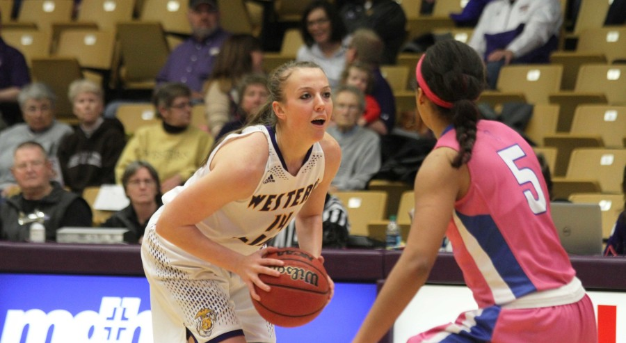 All-time 3-point leader Michelle Maher has been the centerpiece of Western's offense this year.