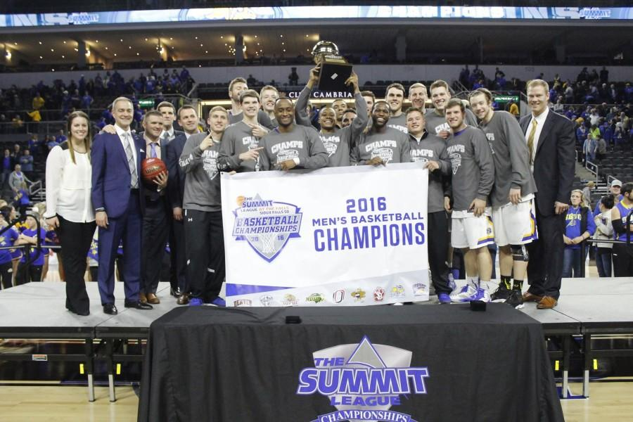 The South Dakota State mens basketball team punched their ticket to the NCAA Tournament after defeating the North Dakota State Bison, 67-59.