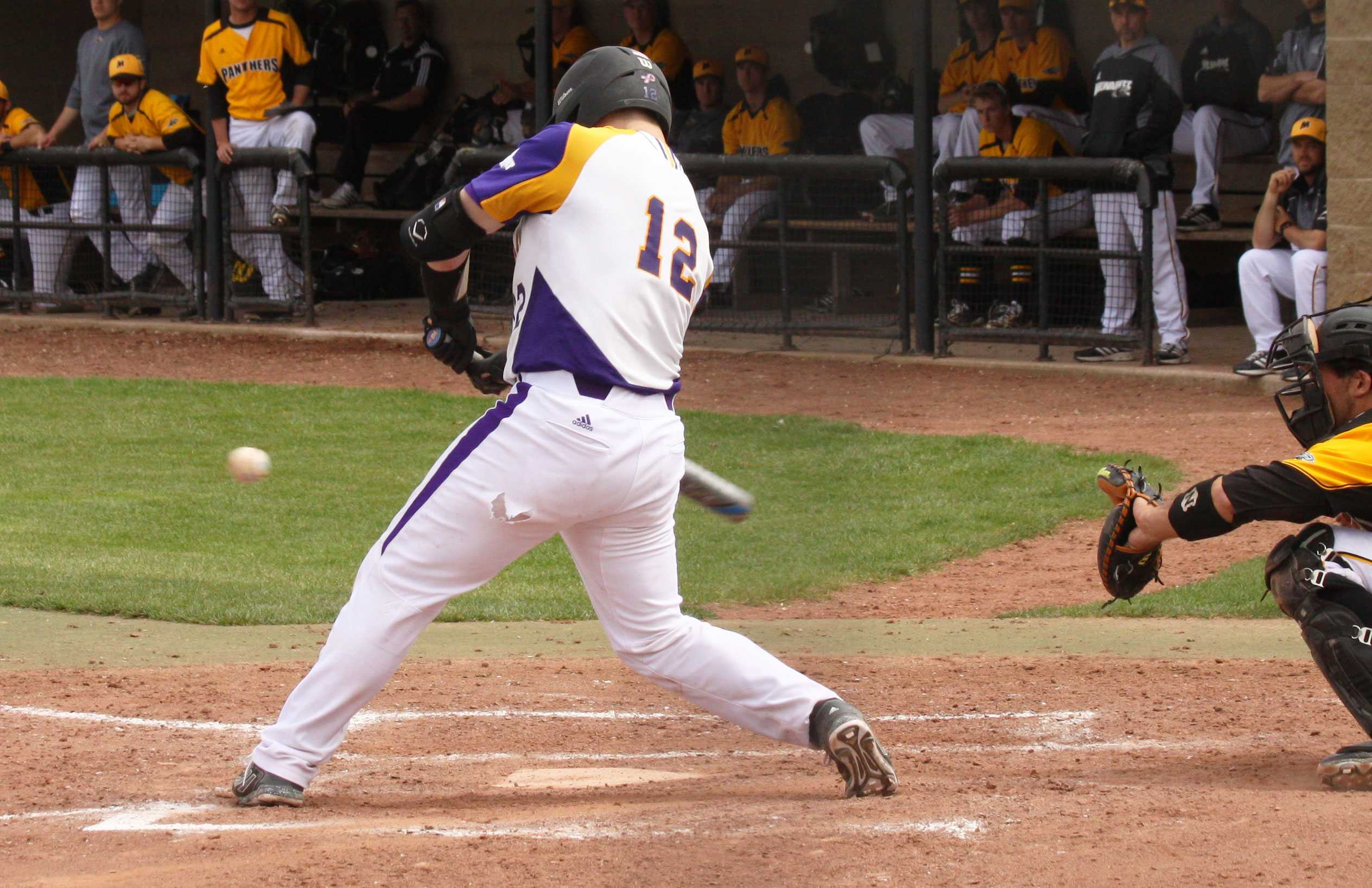 After choosing baseball over hockey, catcher Adam McGinnis has made the most of his time at Western.