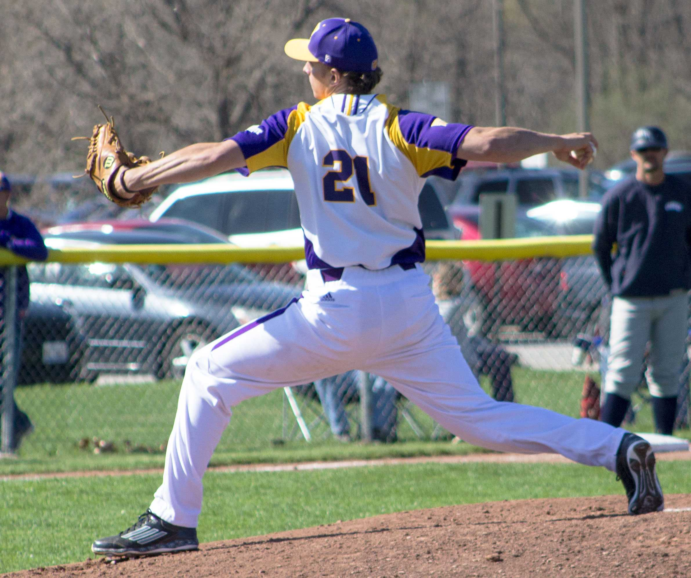 Joe Mortillaro keeps his team in the game, throwing seven innings against ORU and only allowing three runs on Saturday.