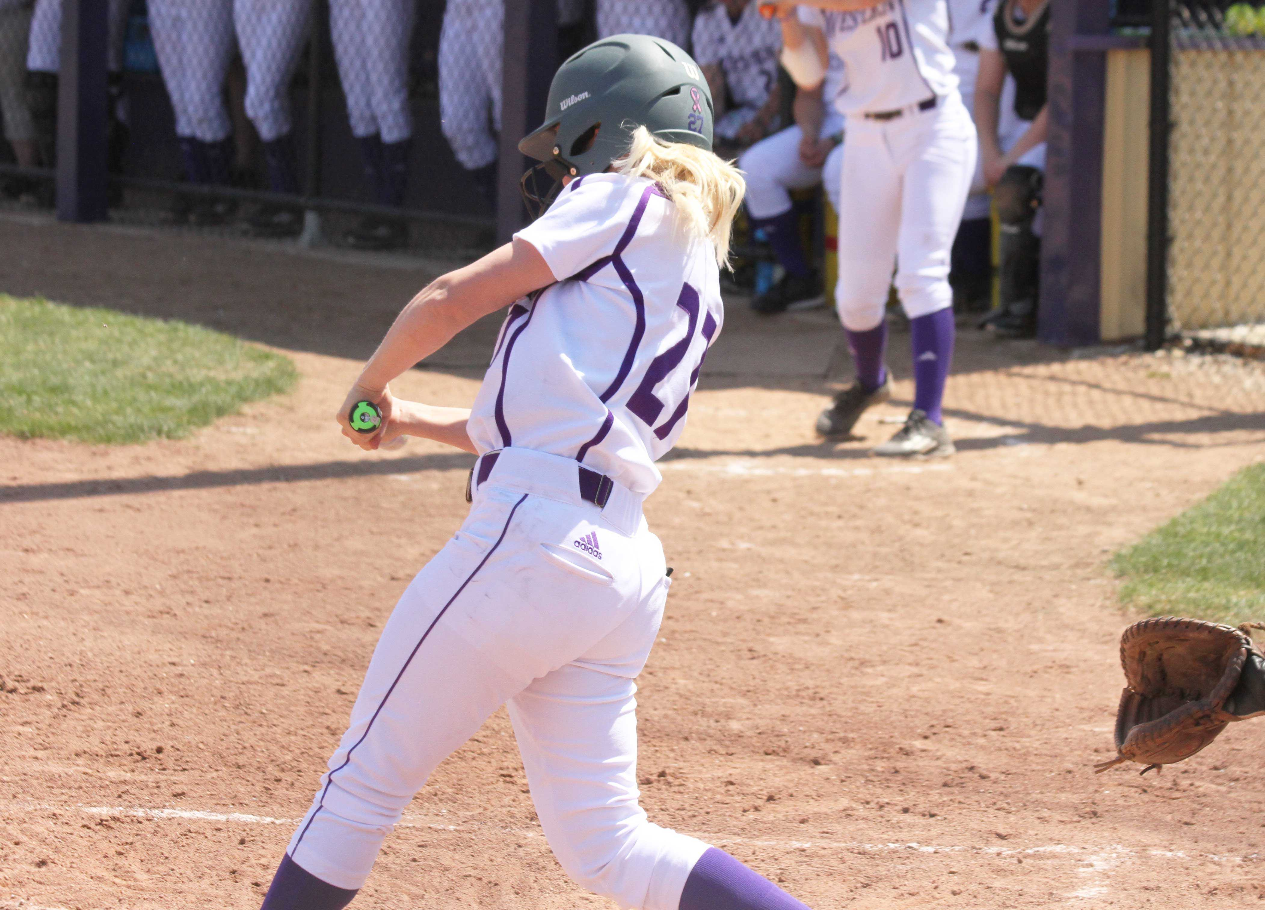 Tierney Bottino (18 RBIs) and the Leathernecks will have their hands full against NDSU's Jacquelyn Sertic this weekend.