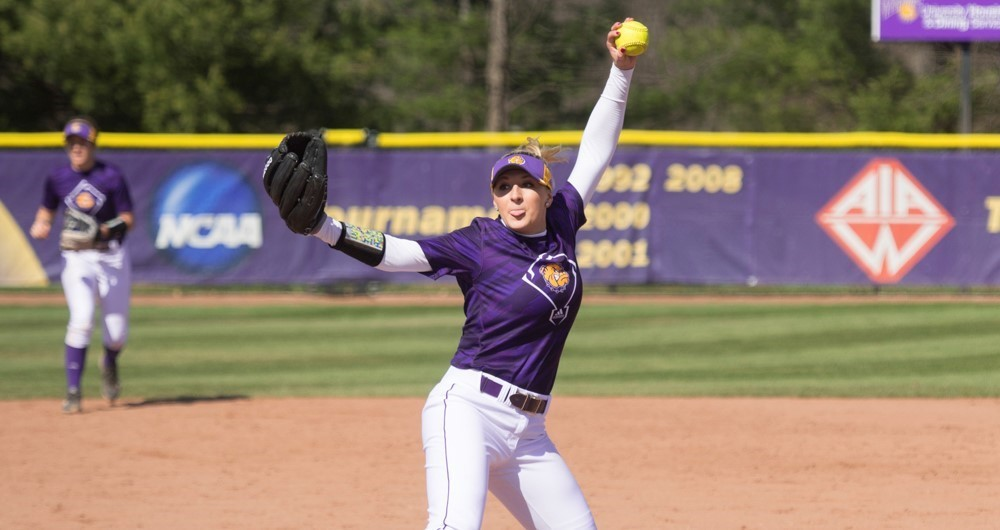 Freshman Emily Ira has struck out 99 batters in her first season with the Leathernecks.