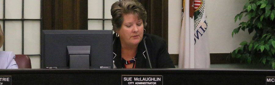 City+Administrator+Sue+McLaughlin+will+be+leaving+Macomb+following+a+%E2%80%9Cmutual+agreement%E2%80%9D+to+end+her+contract+with+the+city.