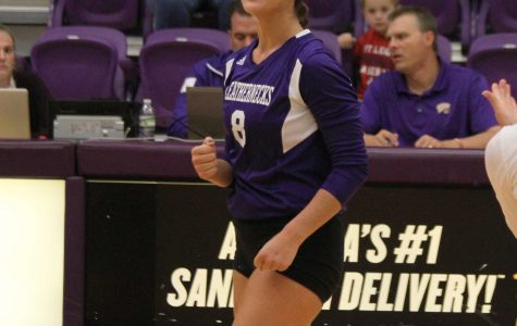 Volleyball wraps up season with hard-fought losses