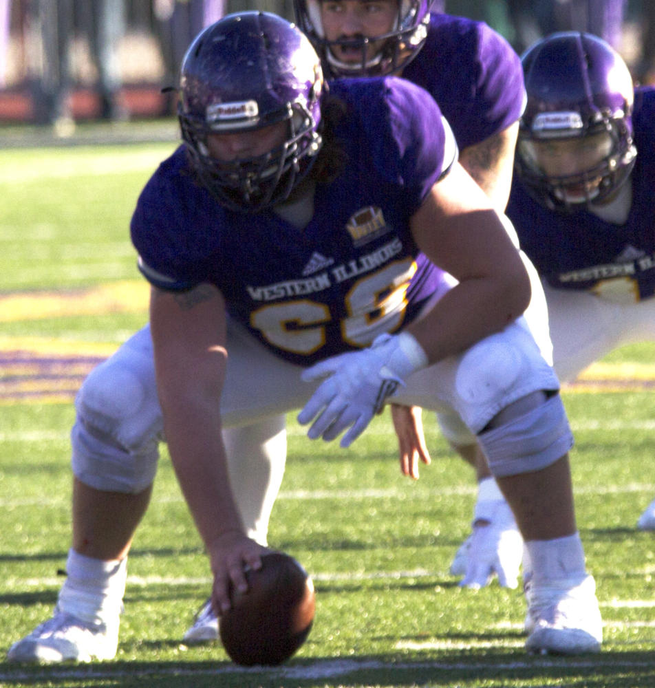Jacob Judd ready to snap the ball