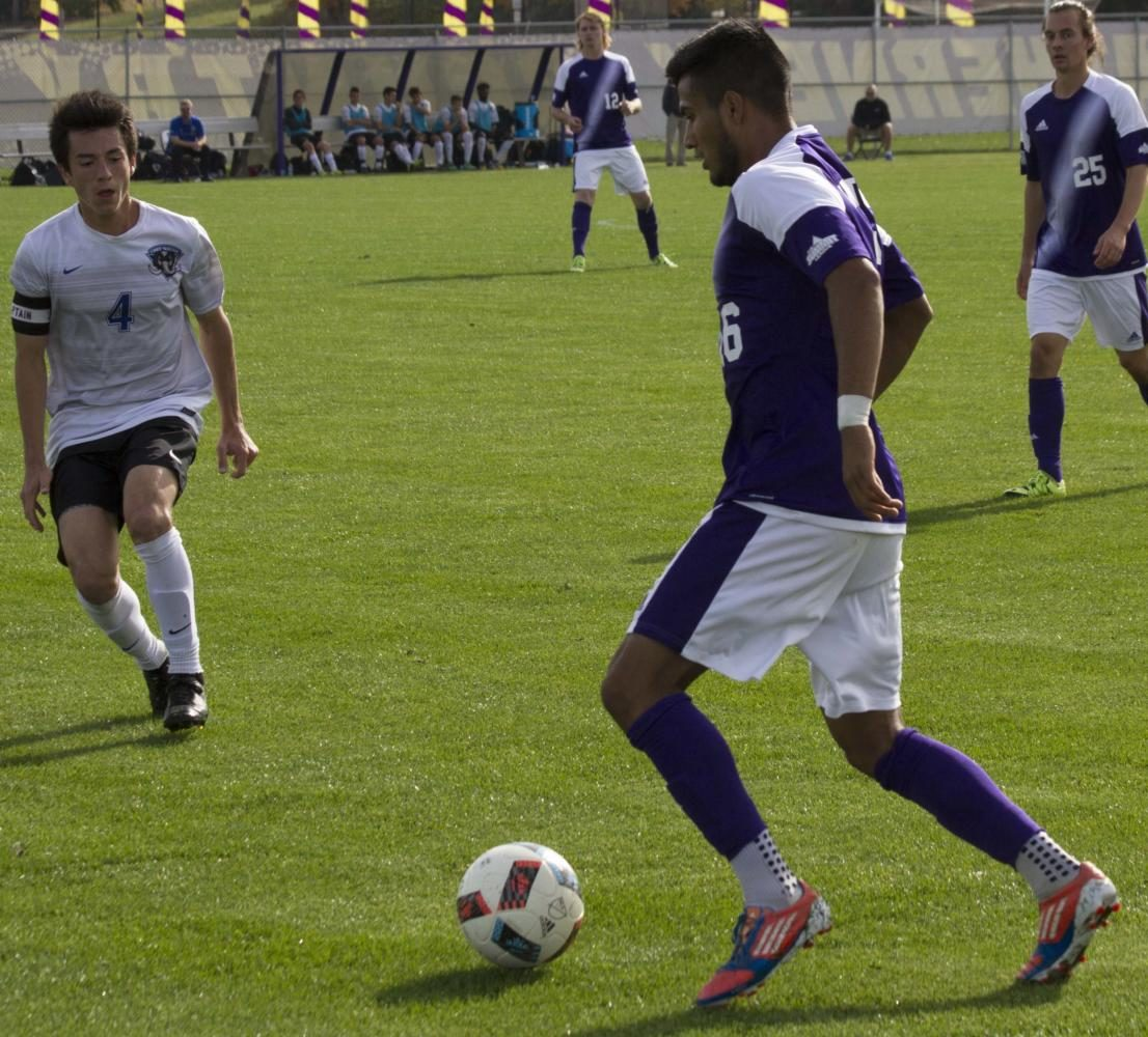 Men's soccer secures second victory of the season