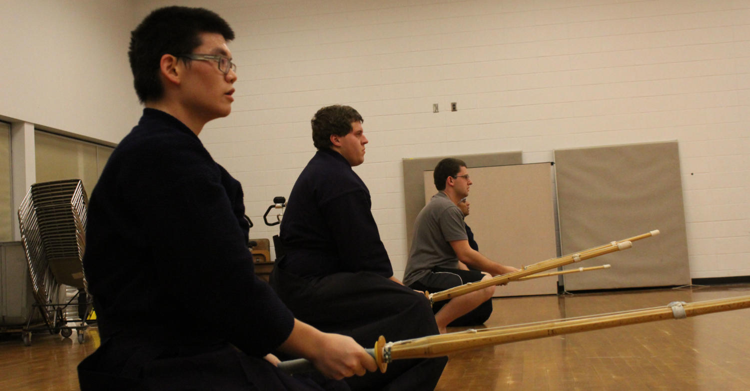 Kendo club members promote physical, mental and cultural learning as they engage in their practice ritual to stay active, develop discipline and indulge more in Japanese culture.