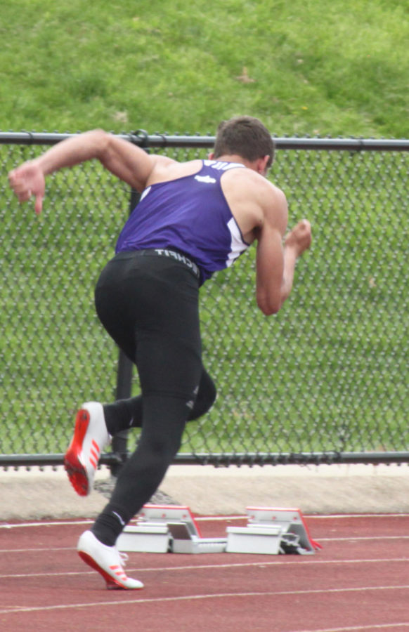 Justin Montalto takes off in event.