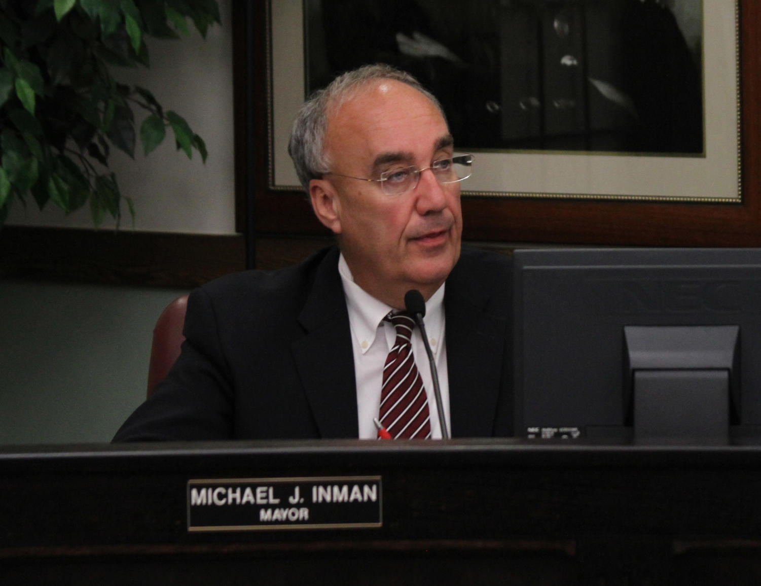 Mayor Mike Inman discusses issues facing Macomb.