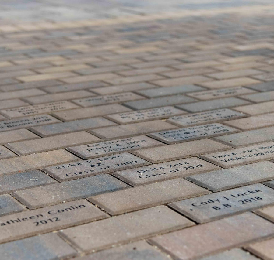 Alumni easily find bricks in new Alumni Plaza – Western Courier on wiu quad cities campus, wiu moline campus, wiu campus map, wiu campus recreation,