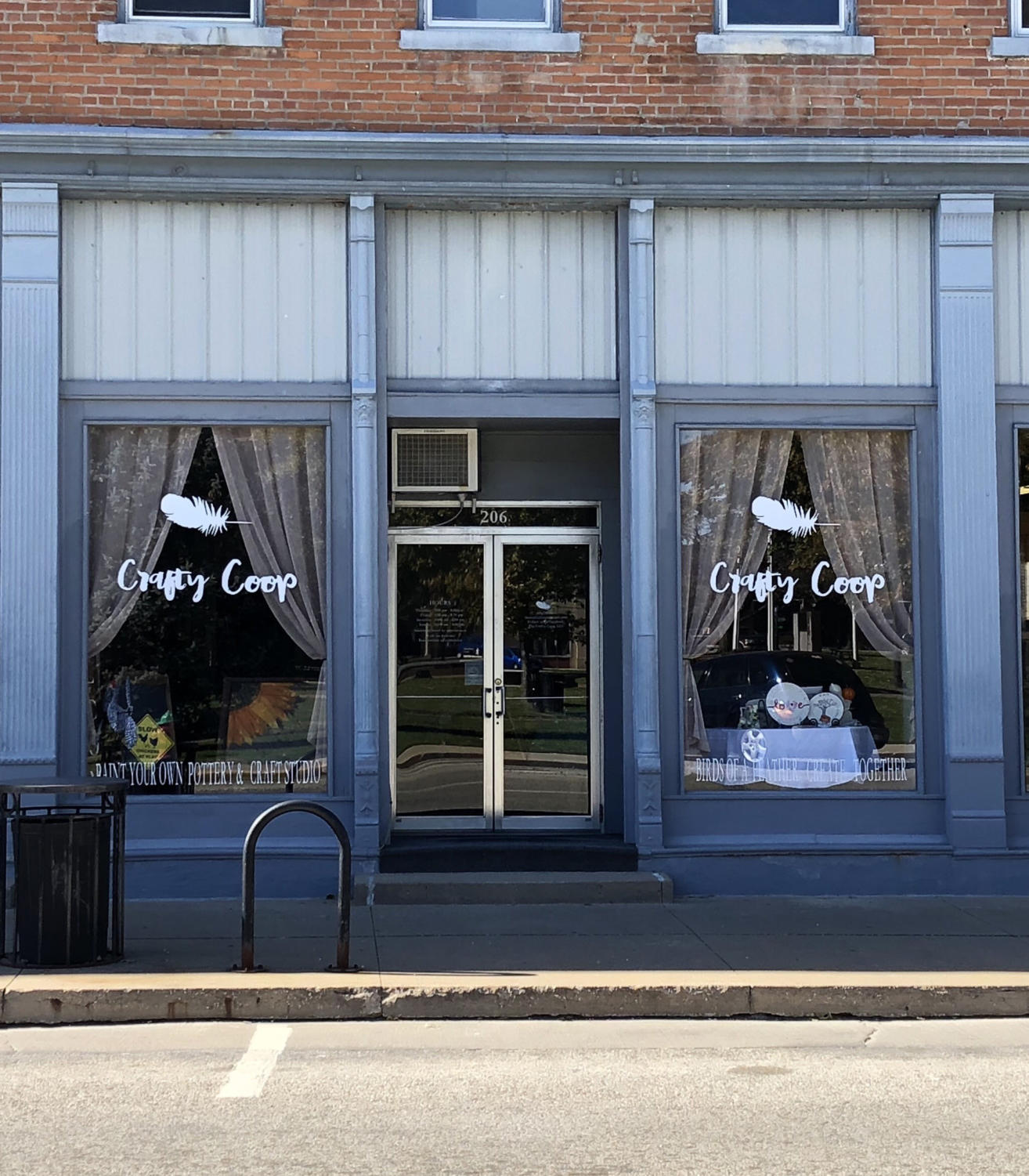 Crafty Coop is ready for customers to stop by on the west side of downtown Macomb.