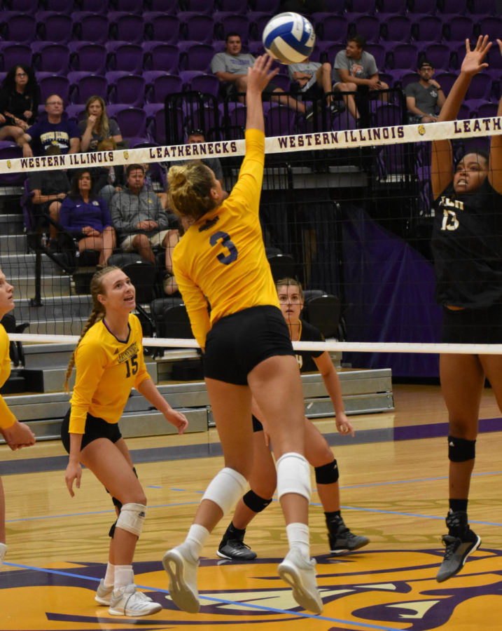2e704cb10a1 Women s volleyball to wrap up season – Western Courier
