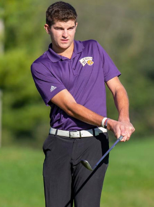 Men's golf finishes in three-way tie for 10th at first tournament