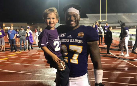 Leathernecks honor and support local Miracle Kid at Saturday's football game