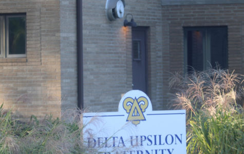 "Delta Upsilon sets up their ""House of Terror"""