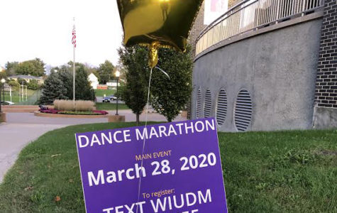 Western Illinois University Dance Marathon decorated the mall this week to celebrate and encourage people to sign up for their main event.