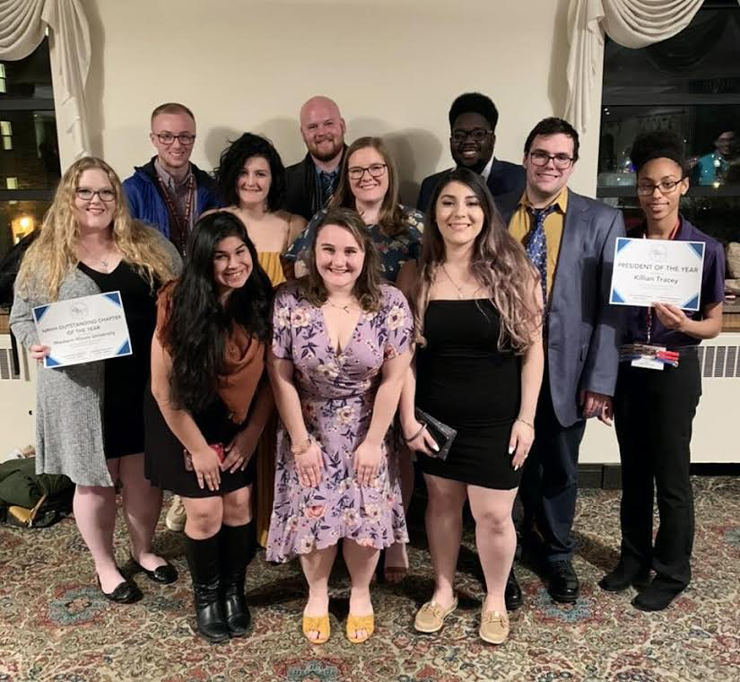 Delegates+from+Western+Illinois+University%27s+National+Residence+Hall+Honorary+Society+brought+home+two+awards+from+their+annual+GLACURH+conference