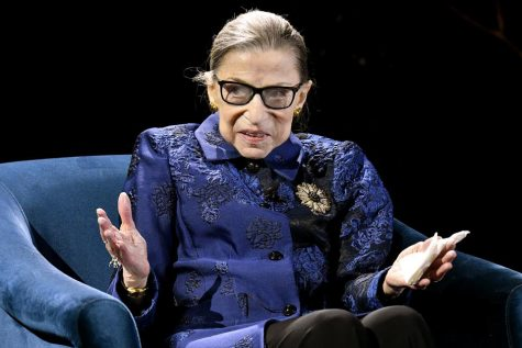 Ruth Bader Ginsberg is known for being an advocate for women right