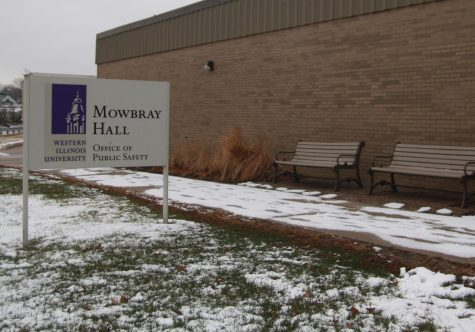 Mowbray Hall is home to the Office of Public Safety on campus.